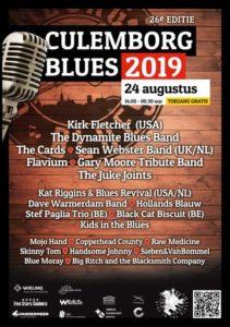 Culemborg Blues 2019 poster